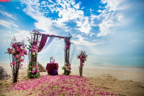 Дима и Настя дизайнерская свадьба на Самуи