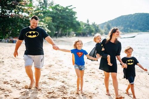 Семейная фотосессия для Серегея Жукова и его семьи