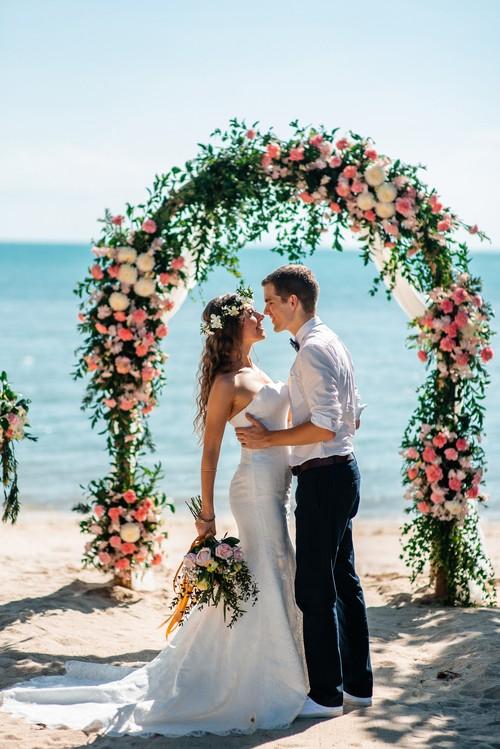 Свадебная церемония на Самуи в Eco стиле