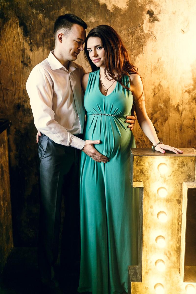 Фотосессия беременности Оли