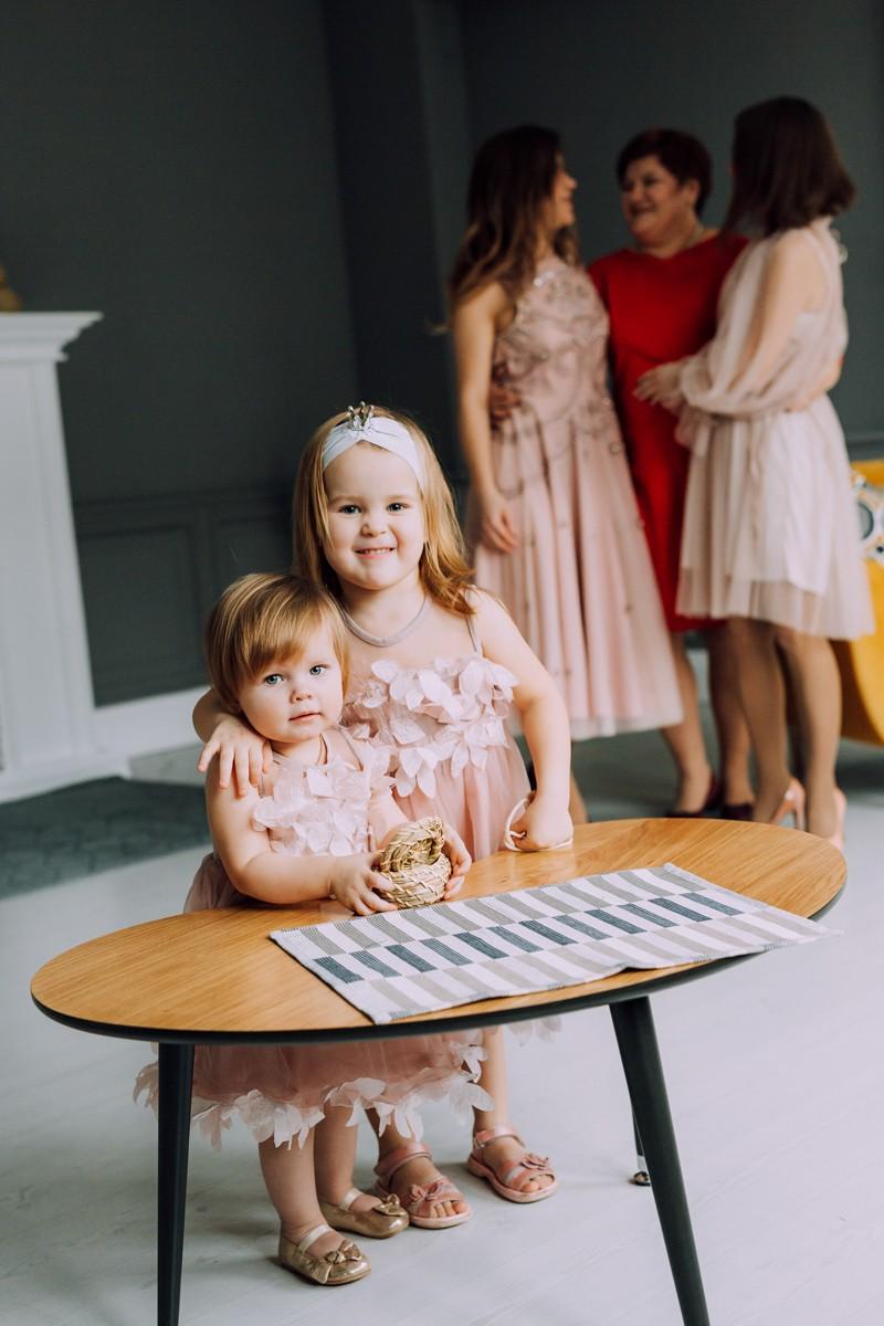фотосессия с дочками