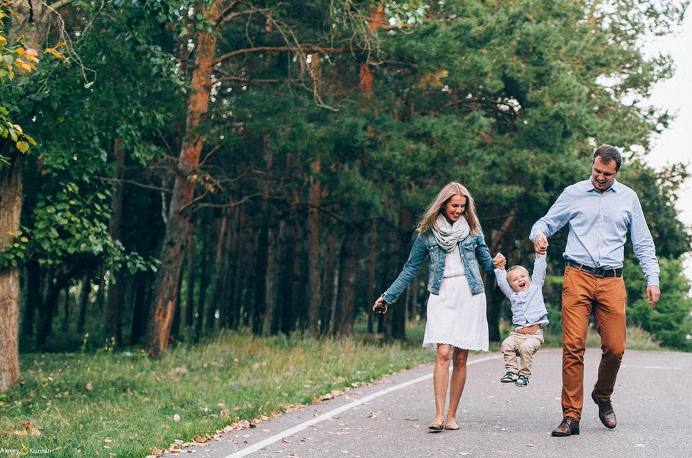 Оля, Андрей и Мирон