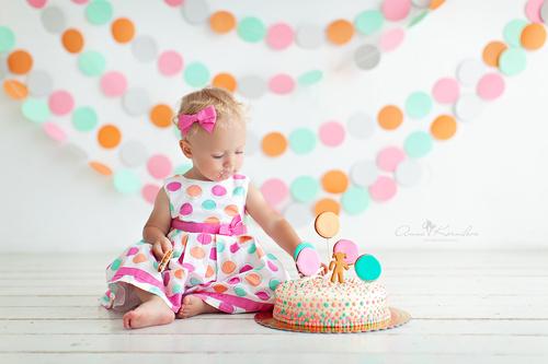 Smash Cake - Первый тортик