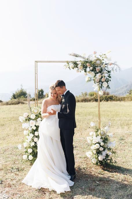 Wedding day Nail & Anna