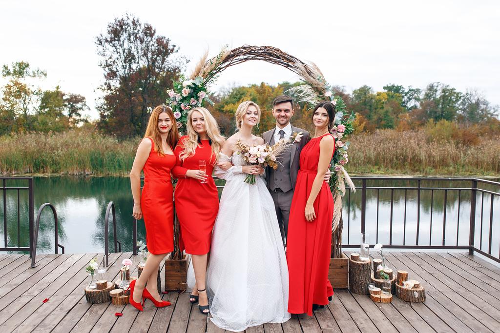 Sweet wedding day E&S