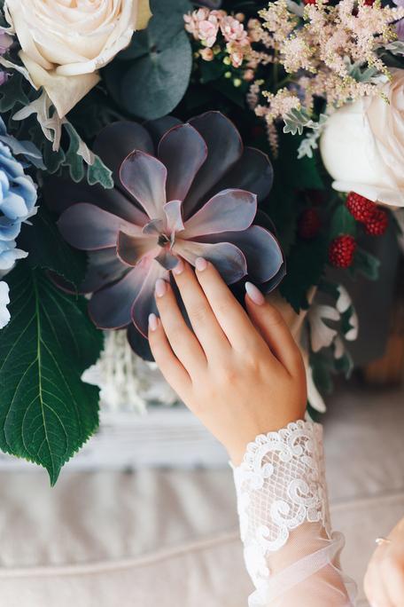 Sweet wedding day O&A