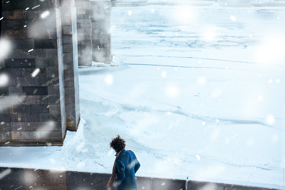 SNOW IN CITY