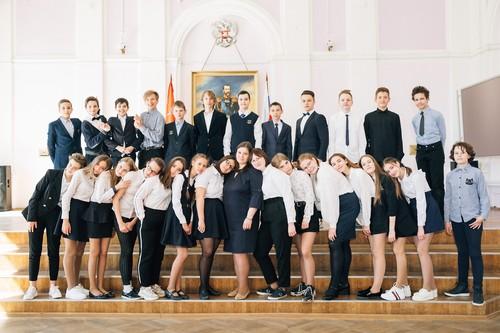 School №415 7В SPb/Peterhof