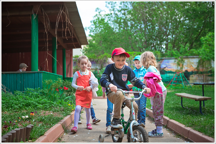 Съемка в детском саду. Май 2015