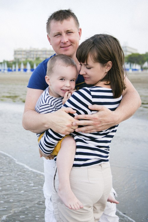 Катя, Митя и Степа в Италии