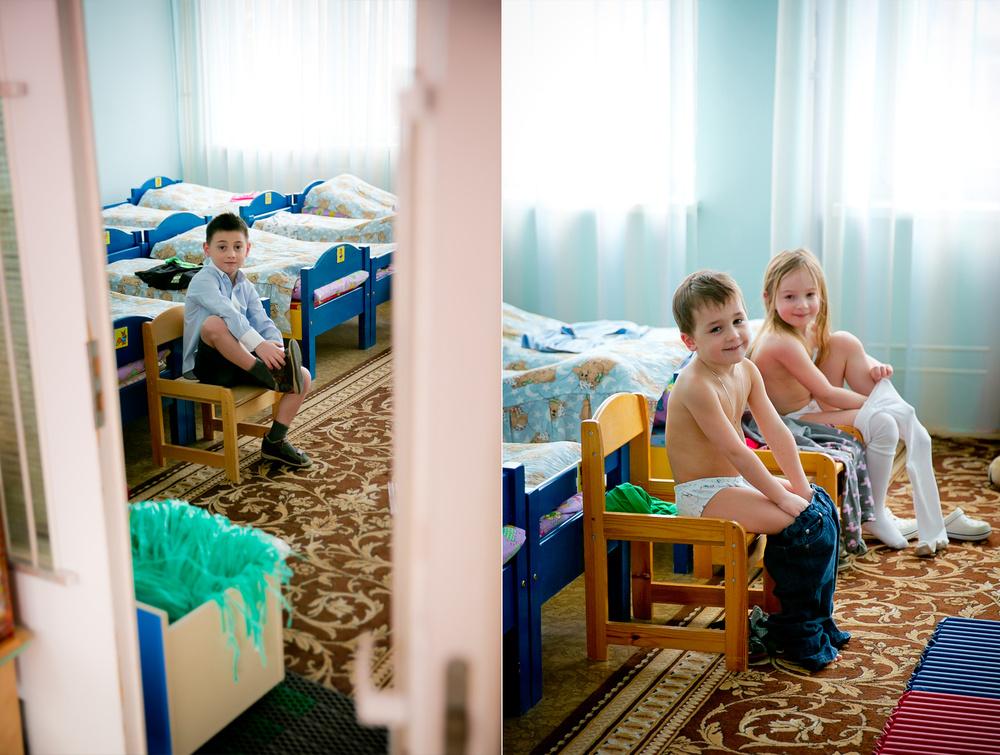 Съемка в детском саду. Апрель 2014