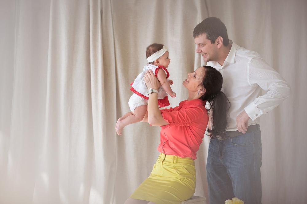 Игорь, Оля и Алина. Семейная съемка