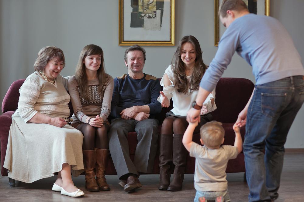 Съемка для большой семьи. Вологда