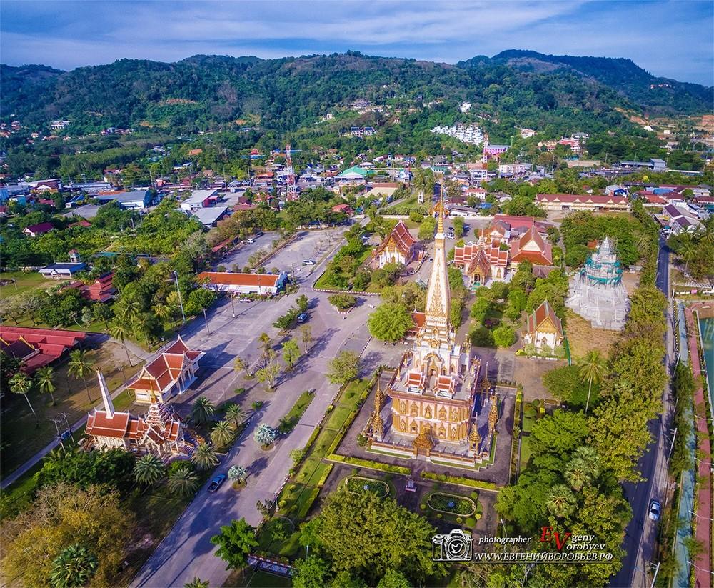 аэросъемка видеосъемка квадрокоптер с воздука Пхукет Таиланд phuket