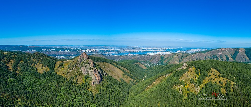 красноярск заповедник столбы Такмак съемка с квадрокоптера дрон скалафотограф видеосъемка красноярск