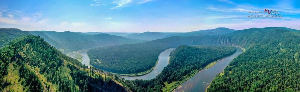 съемка с квадрокоптера Красноярск заповедник столбы сибирь тайга река мана