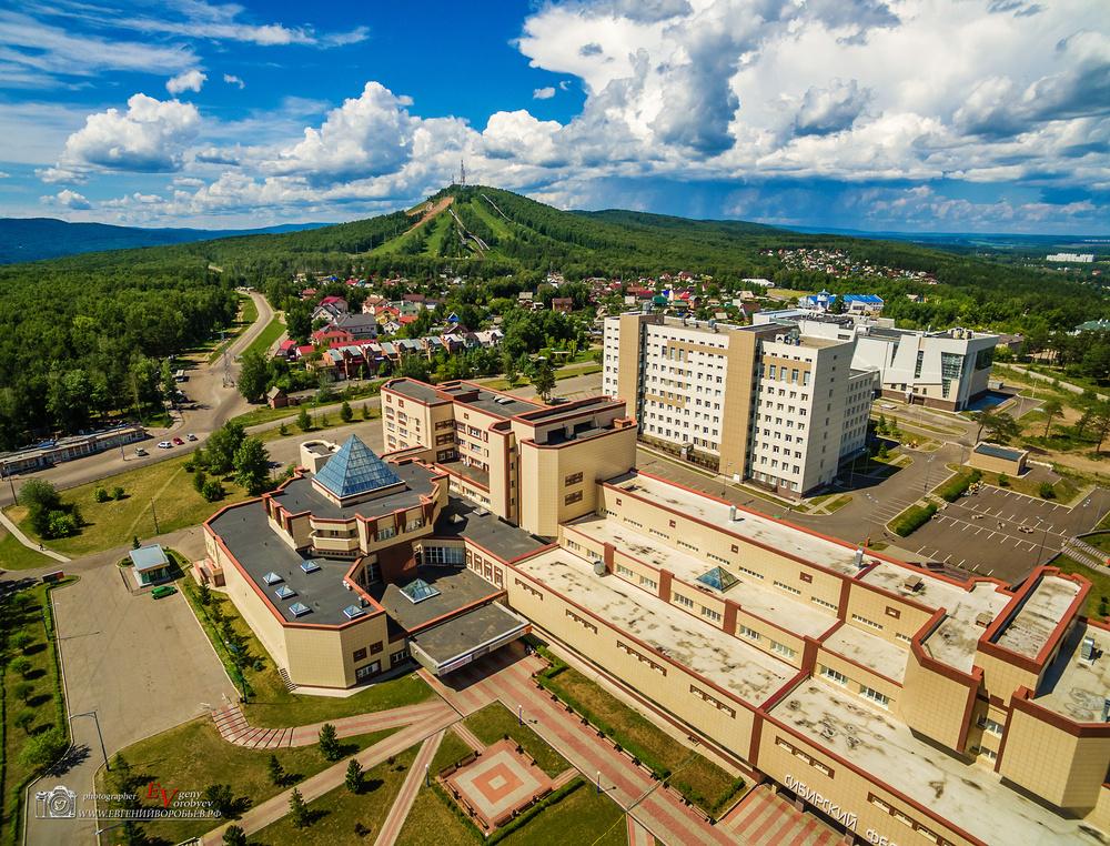 фото Сибирский Федеральный университет квадрокоптер с высоты