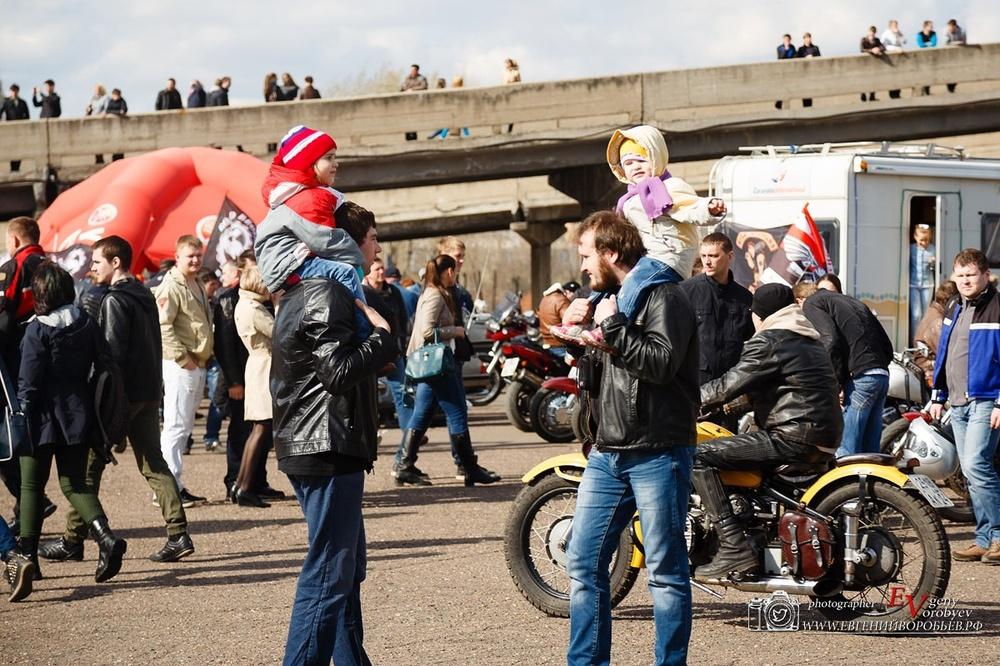Фото репортаж с открытия байкерского сезона в Красноярске