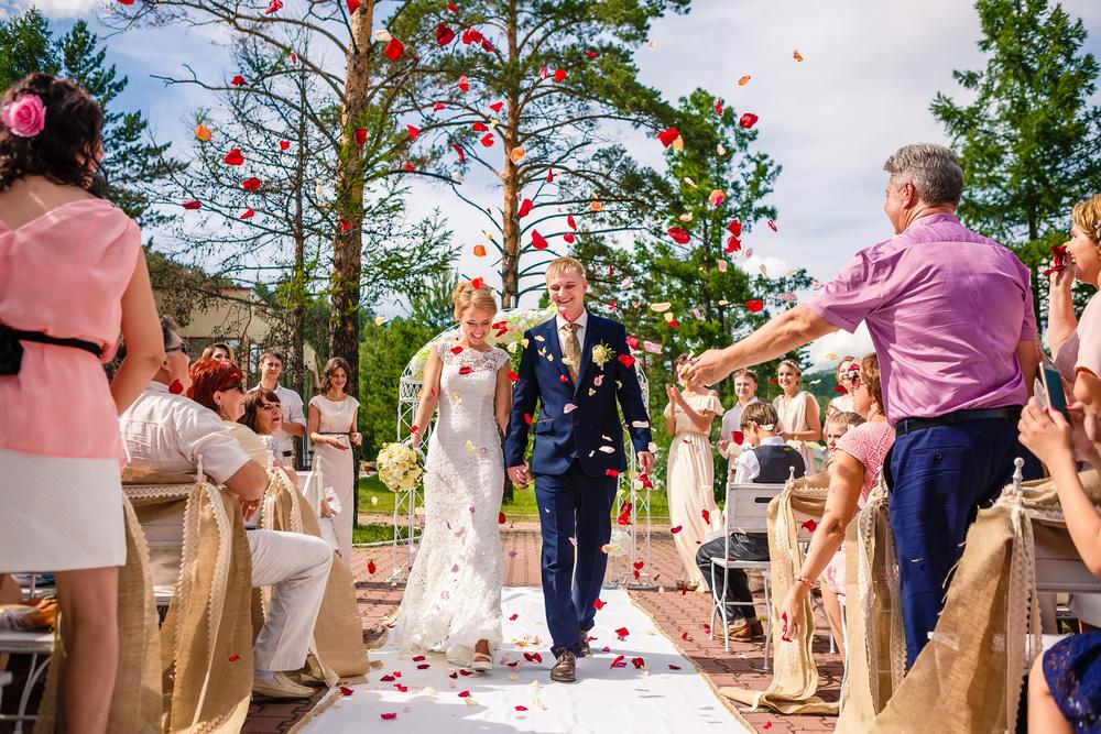 свадебная церемония Красноярск свадьба невеста место  фотограф гости