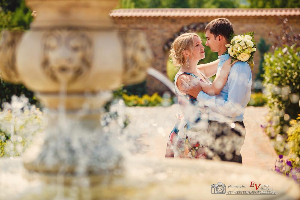 свадебное фото фотограф Красноярск Сады мечты место свадьба лучший