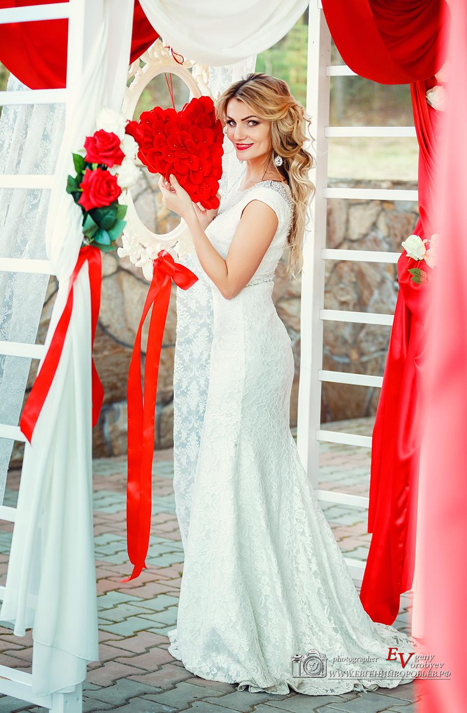 свадьба выездная регистрация фотограф Красноярск арка