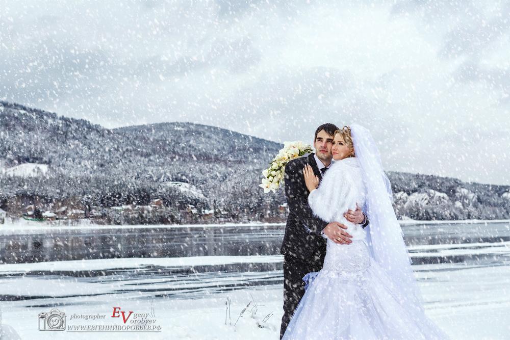 Свадебное фото фотограф в Красноярске