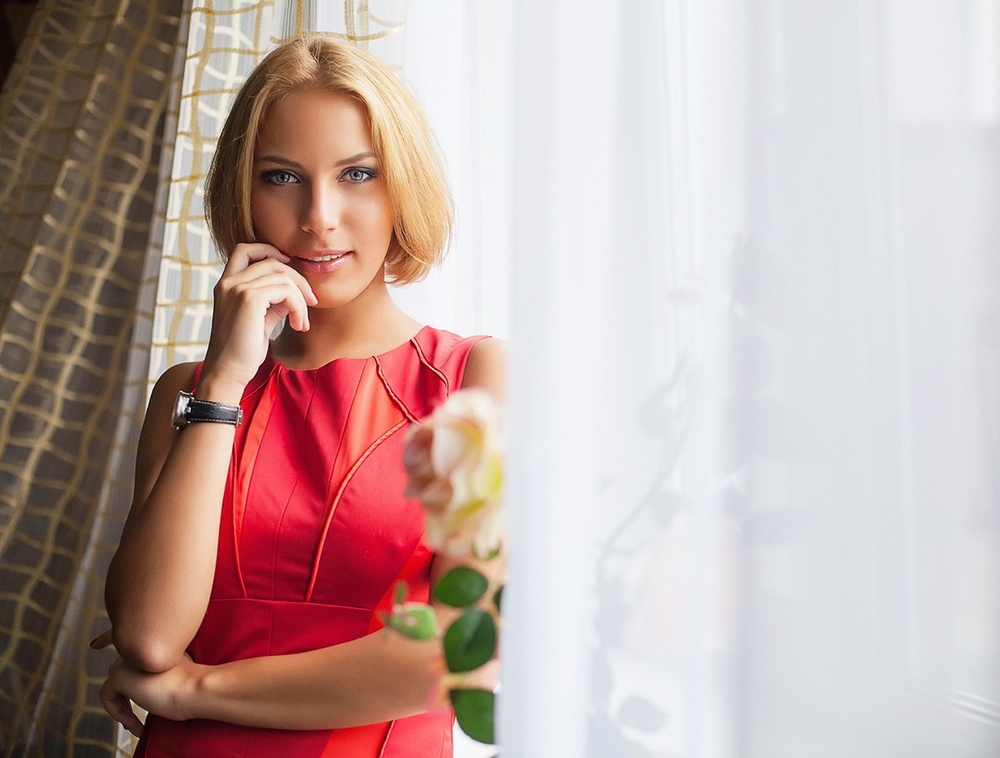 фотостудия Красноярск фотосессия фотограф студия портрет съемка красивая девушка эротика