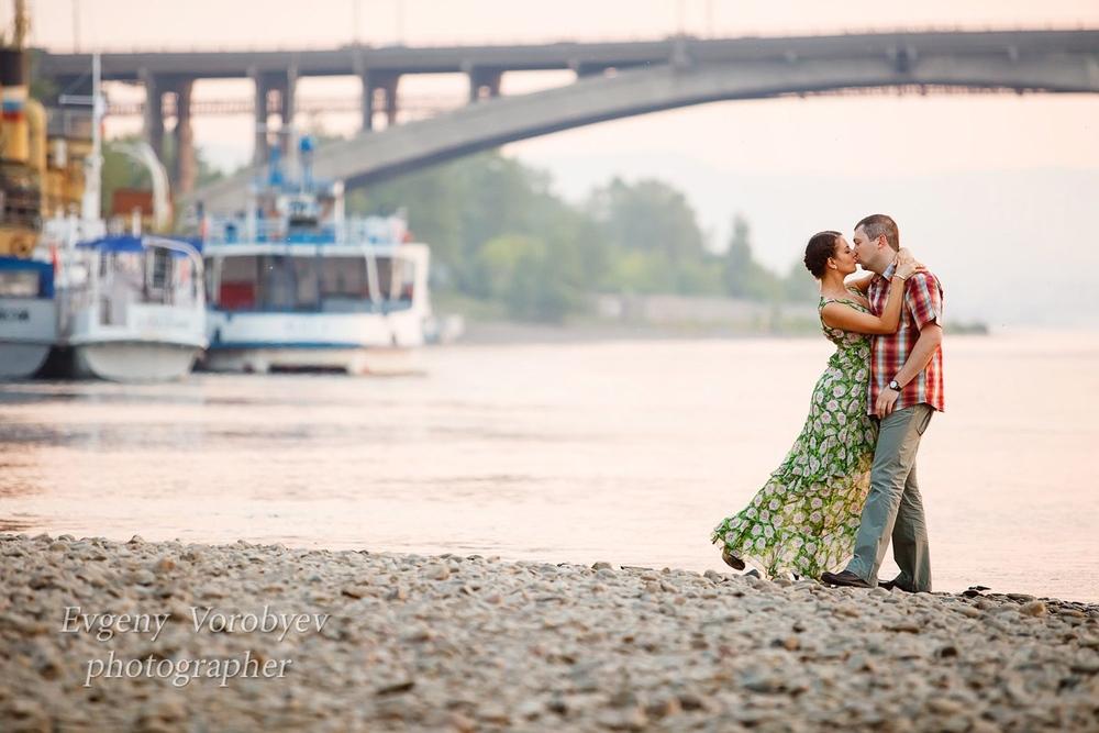 фотограф Красноярск девушка красивая фотосессия места природа