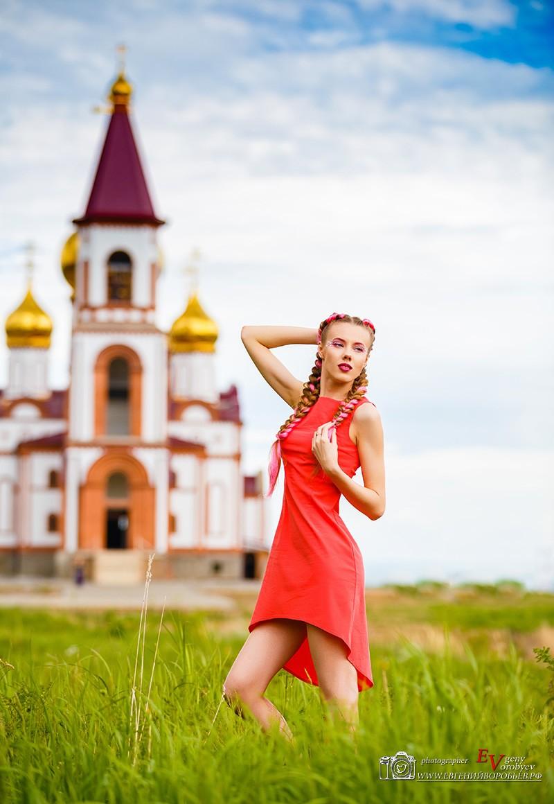 место идея для фотосесии на природе фотограф красноярск девушка портрет визажист макияж прическа