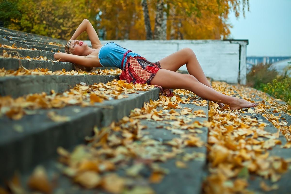 фото на природе фотосессия Красноярск осень