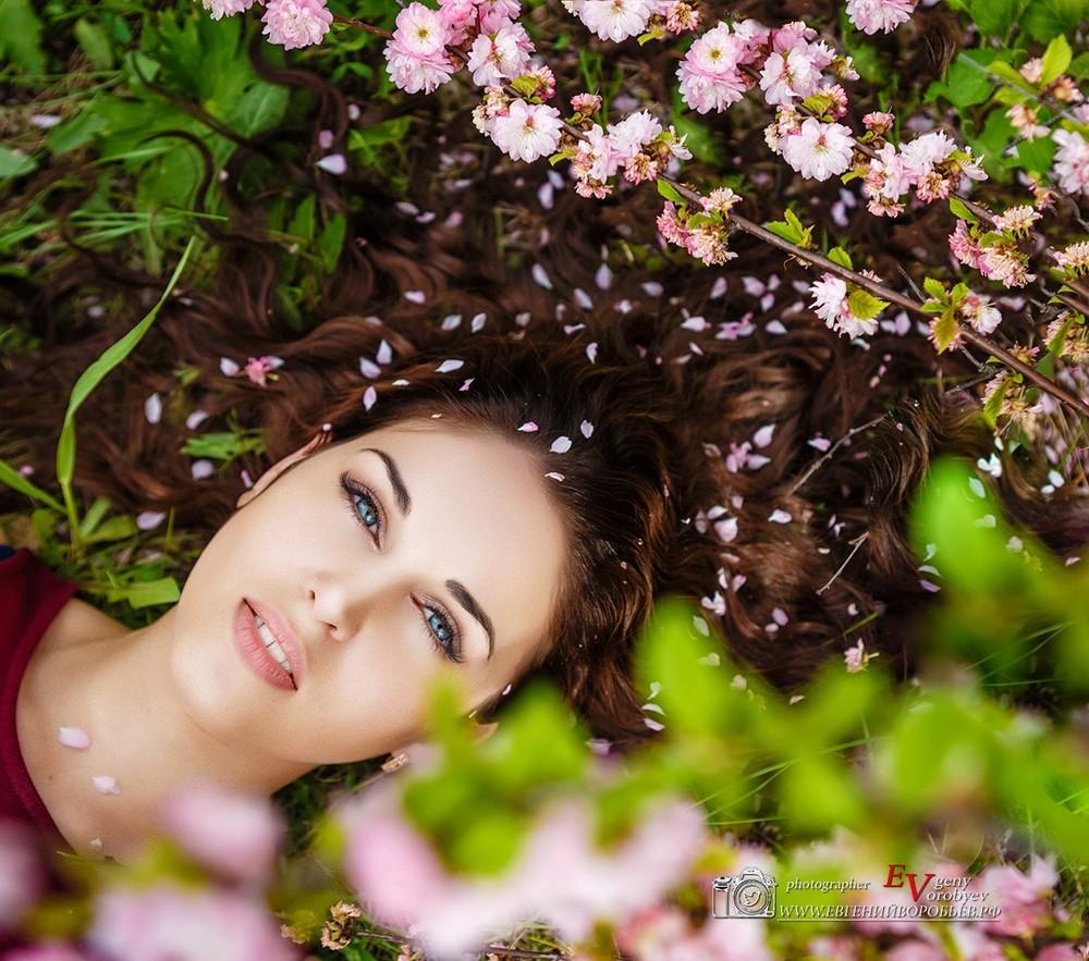 фото девушка сексуальная природа Красноярск красивые места фотосессия