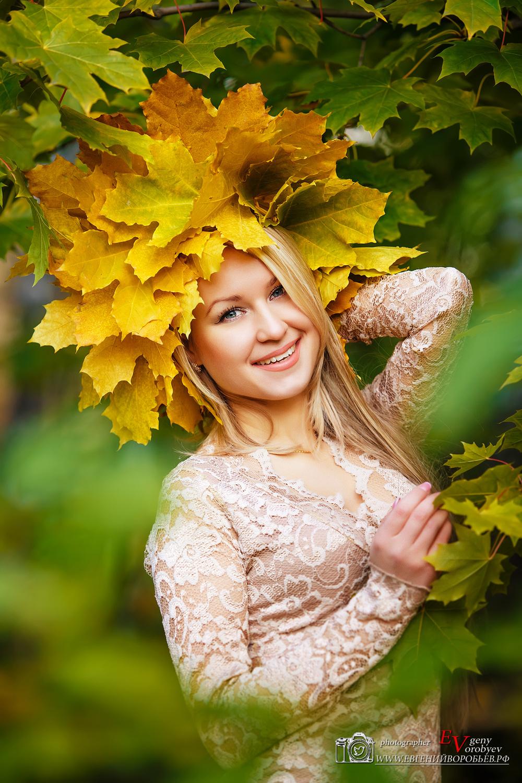 Фотограф фотосессия в Красноярске красивые фото девушка портрет осень идея место