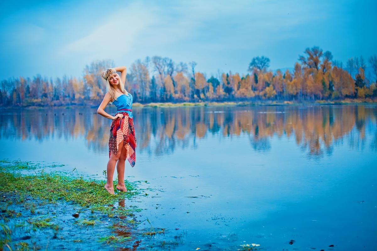 фото на природе фотосессия Красноярск фотограф