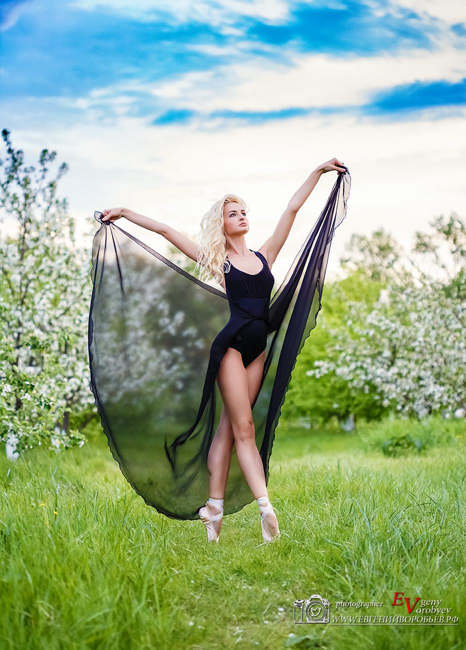 девушка танец балерина балет лето эротика сексуальная ноги