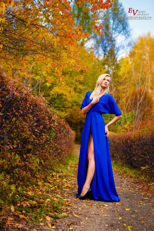 Фотограф фотосессия в Красноярске красивые фото  место осень природа лес девушка