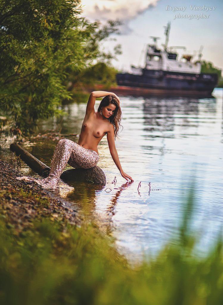 фото обнаженной девушки ню эротика голая грудь сексуальная красивая попа фотосессия Красноярск