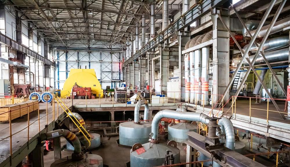 ТЭЦ котел турбина ТГК Красноярск индустриальная промышленная фотосъемка