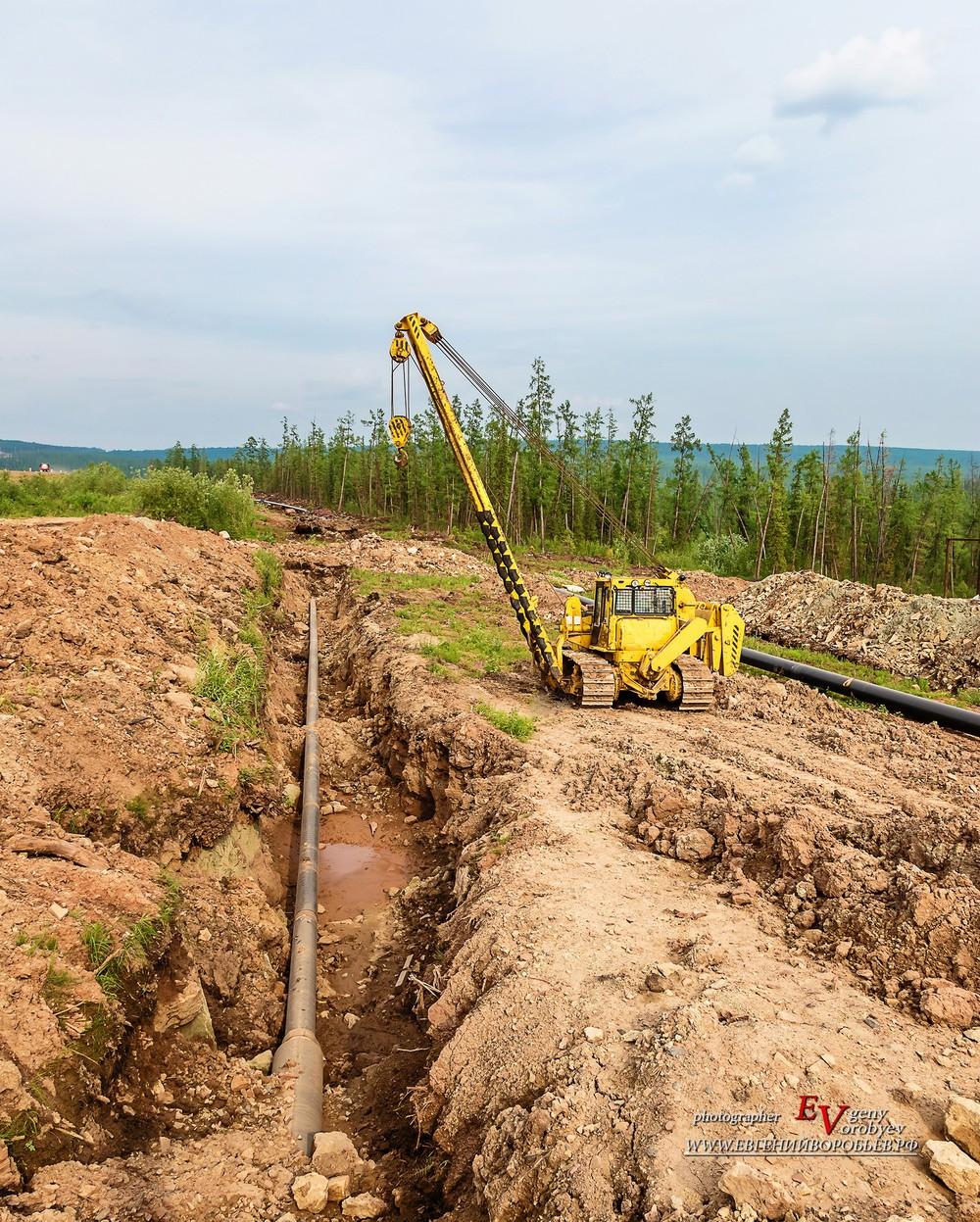 Роснефть нефть Сибирь нефтепровод промышленная фотосъемка Красноярск Ванкор