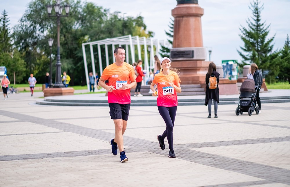 Забег Красноярск 2020 репортаж