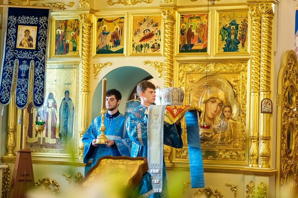 Успение Пресвятой Богородицы фото репортаж