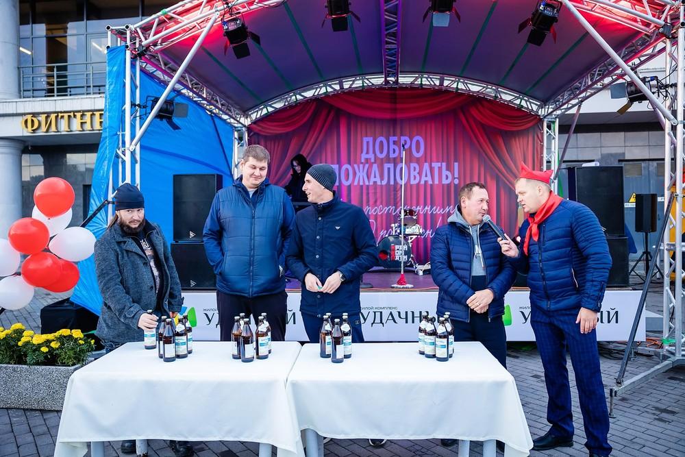 пиво конкурс Красноярск поселок удачный праздник фотосъемка репортаж
