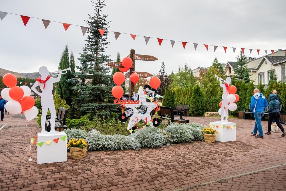 коттеджный поселок Удачный Красноярск Монплизир Mon Plaisir кафе фотограф фотосессия праздник