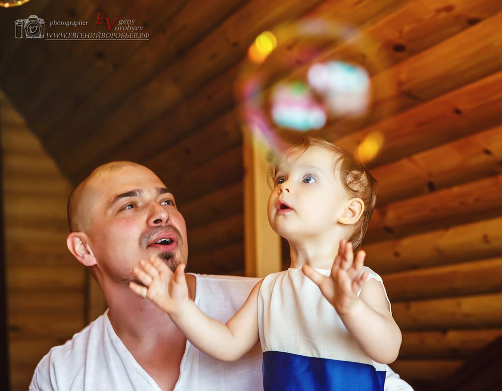 Семейная детская фотосессия