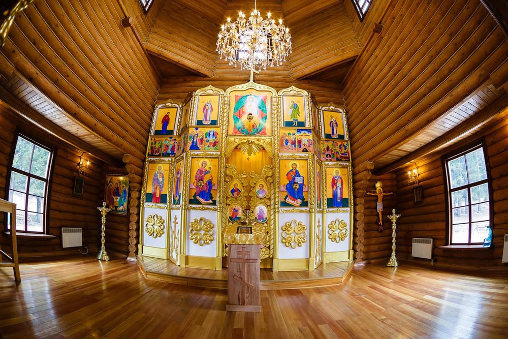 фотосъемка храм церковь алтарь фотограф Красноярск интерьер икона свеча