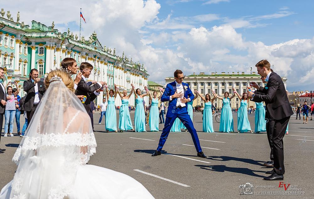 Свадьба на Дворцовой площади Спб