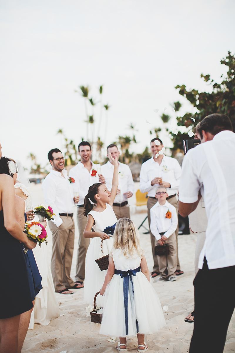 Beach Wedding in Dominicana
