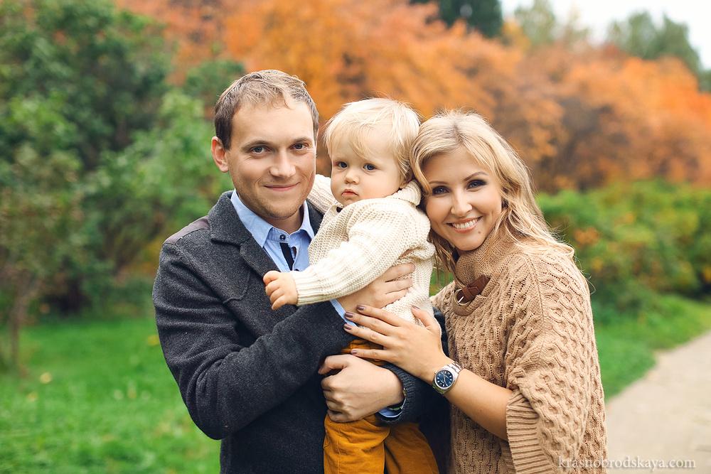 СЕМЬЯ И ДЕТИ - Beautiful autumn family photo shoot