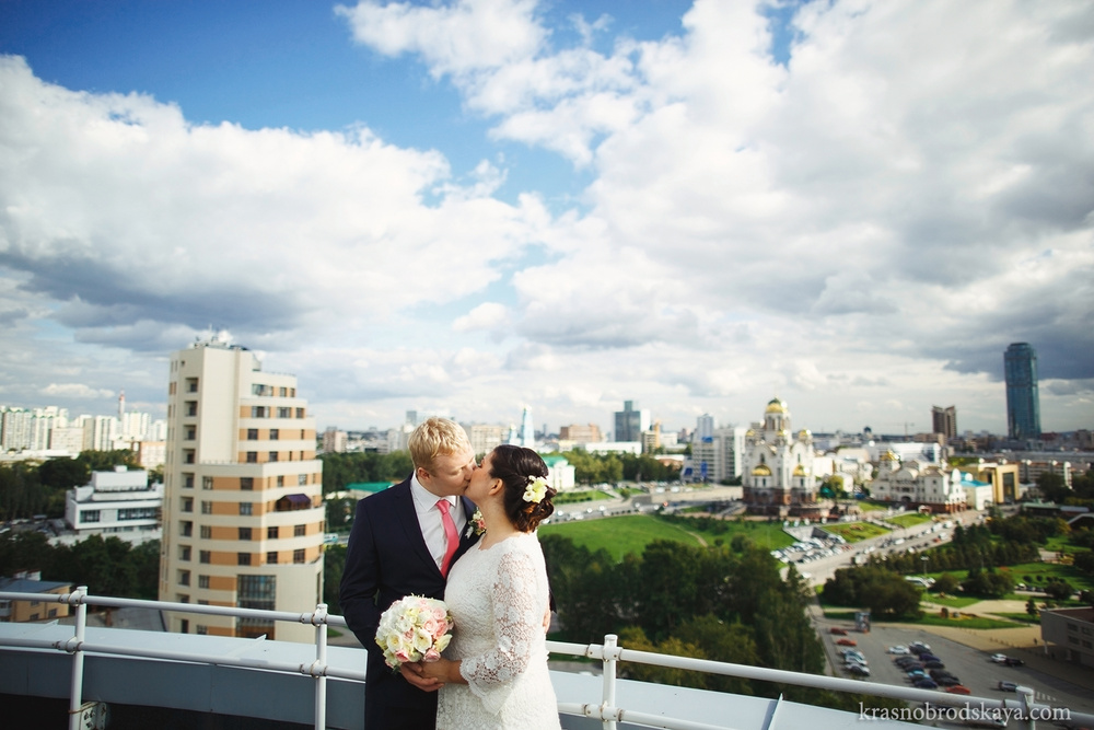 СВАДЬБЫ - Anna & Aleks Wedding 5 September 2014