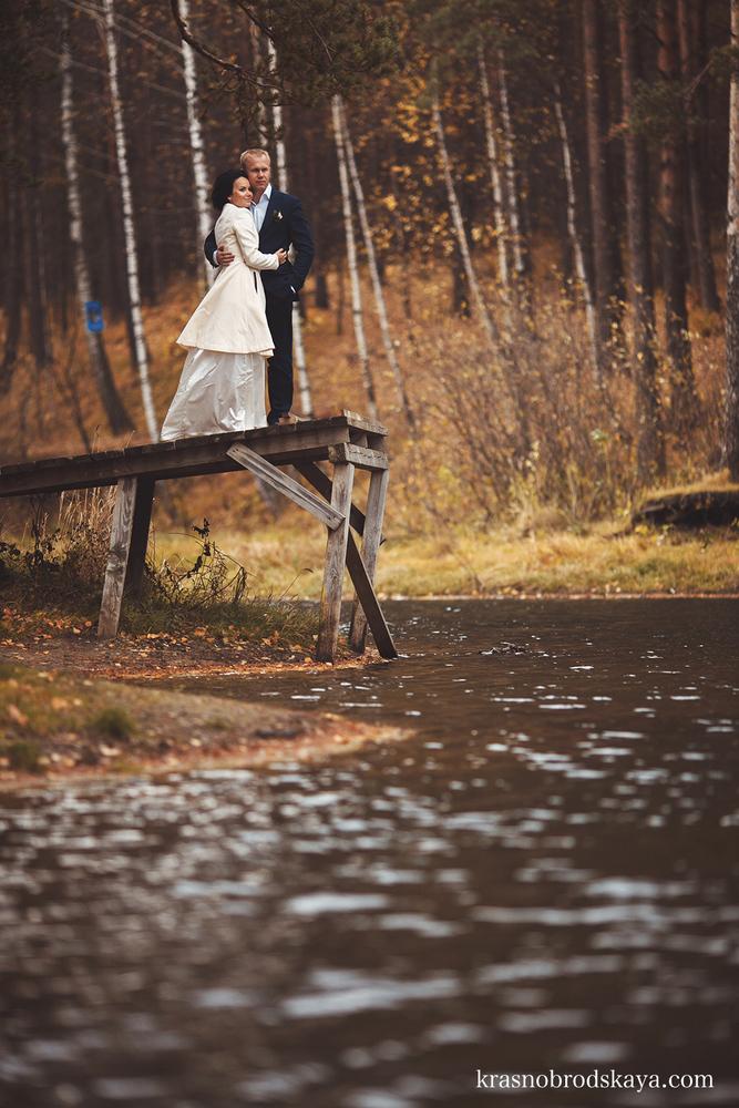 СВАДЬБЫ - Anna & Aleksander Wedding 12 October 2013 - Свадебная фотосессия от Краснобродских очаровательной пары Аня и Саша в Екатеринбурге