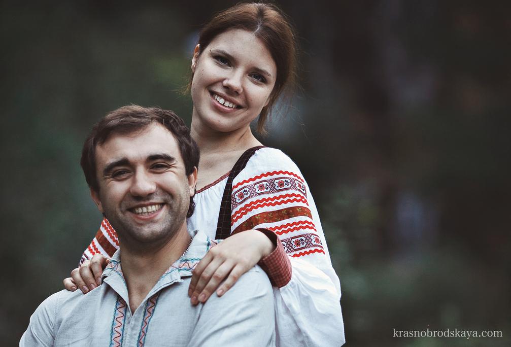 Love story - Love Story Anna & Lesha & Edik - Фотосессия Ани Леши и смелого пса Эдик в Екатеринбурге от фотографов Краснобродских